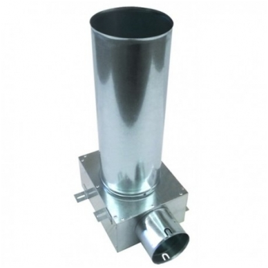 Cinkuoto plieno antistatinė difuzoriaus dežutė