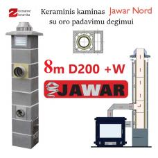 JAWAR NORD 8M Ø200 + W