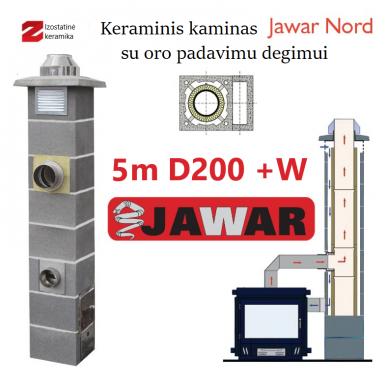 JAWAR NORD 5M Ø200 + W