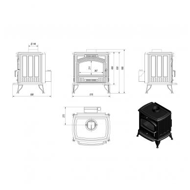 KOZA K 6 su ventiliatoriumi 4