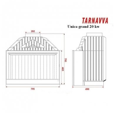 Tarnavva Unica Grand 20 kw 2