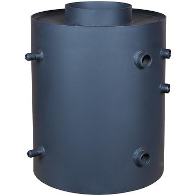 Vandens boileris Turbodym vertikalus su gyvatuku 2