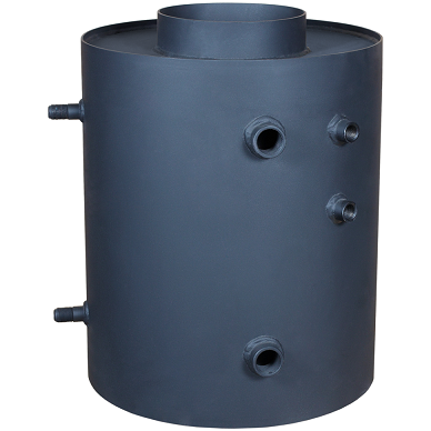 Vandens boileris Turbodym vertikalus su gyvatuku