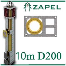 ZAPEL ECO S 10M Ø200 + 2 W