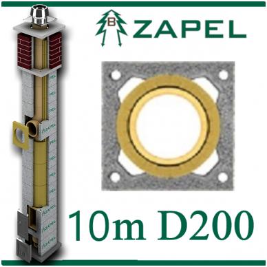ZAPEL ECO S 10M Ø200