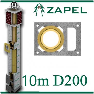 ZAPEL ECO S 10M Ø200 + W