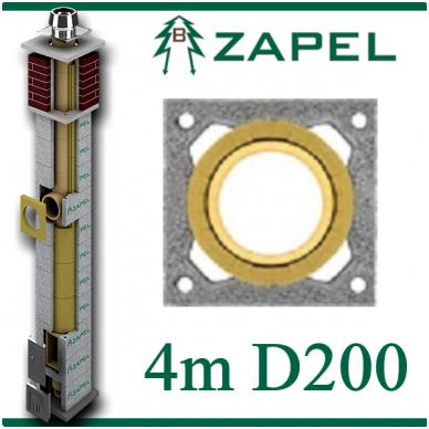 ZAPEL ECO S 4M Ø200