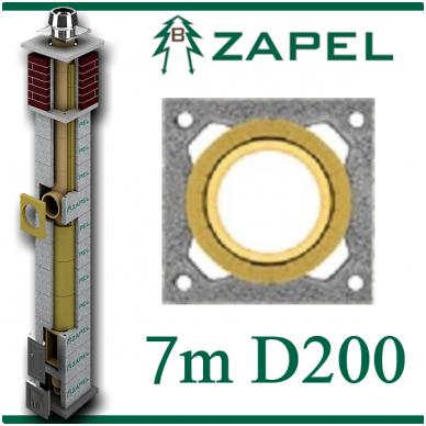 ZAPEL ECO S 7M Ø200
