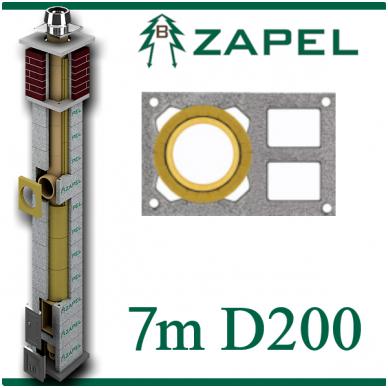 ZAPEL ECO S 7M Ø200 + 2 W