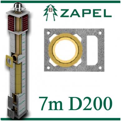 ZAPEL ECO S 7M Ø200 + W