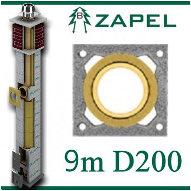 ZAPEL ECO S 9M Ø200